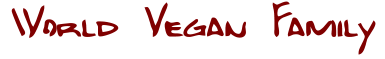 World Vegan Family Logo